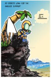 Endless Robot Summers by pigmanga