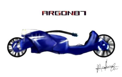 Argons bike by M-Wilson
