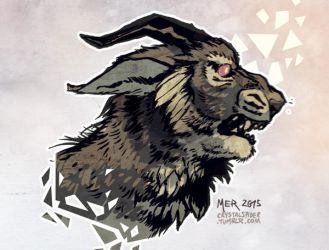 Charr-type Beasty by Radioactive-Insanity