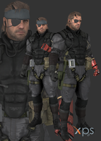 MGSV The Phantom Pain : Venom Snake (Venom) by thePWA