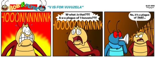 B'n'F - V Is For Vuvuzela by BluebottleFlyer
