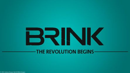 Brink Wallpaper by RedAndWhiteDesigns
