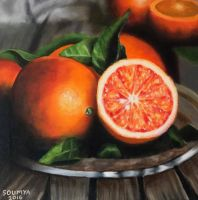 Blood oranges  by soumwise