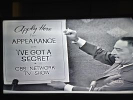 I've Got a Secret 1964 scene - Appearance signs by dth1971
