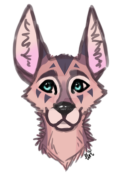 Kya the Jackal (New Style!!) by Uriwolf