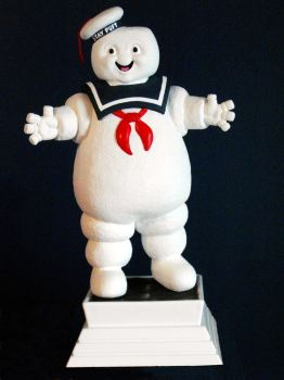 Stay Puft Marshmallow Man by PortraitSculptor