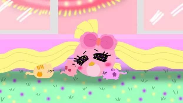 Three Little Squishy Kittens visit at Pinky's Cand by PinkyLover96
