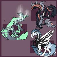 Creature Point Adopt Batch [closed] by LordStarsCreamy