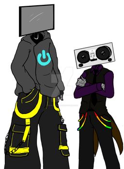 completed objecthead 'sonas! by Zeydarchist