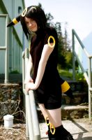 Umbreon: .:In Spring:. by AnyaPanda