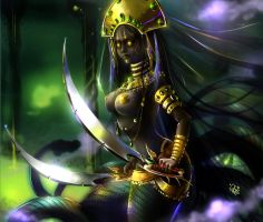Naga Queen by Philiera
