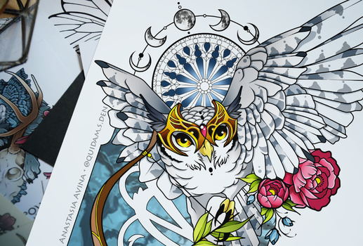 Owl by quidames