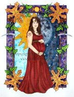 Mabon Mother by Gina-Marie