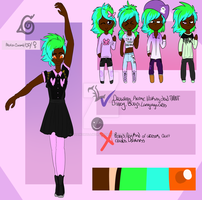 Allevia Reference sheet by AllInSmallWorlds