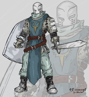 random knight - ef concept by Stachir