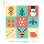 Christmas Icons 2017 by DreamPigment