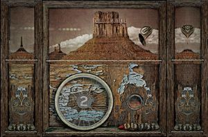 The Surreal West Tryptych by DouglasHumphries