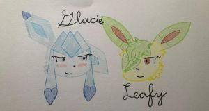 Crappy Lineless Art XD by Glacie-the-Glaceon