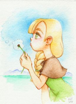 Gerda Watercolor by katiesketch
