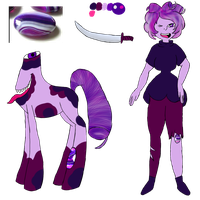 Purple Agate Reference by MommaNessy