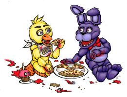 Five Nights at Freddy's: Pizza Party! by ToastyLynx