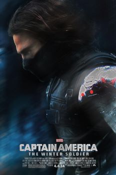 Captain America 2: The Winter Soldier Poster by StephenCanlas