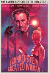 Frankenstein Created Woman - Poster edit by Harnois75
