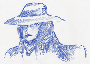 Vampire Hunter D by ZTheGS
