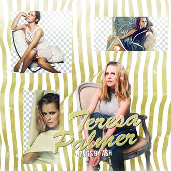 Teresa Palmer PNG pack 3 by Ash. by 1Dhazboo