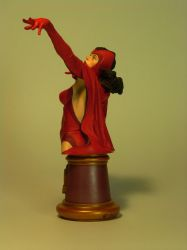 Scarlet Witch Bust - Three Quarter Back View by DaVinci41