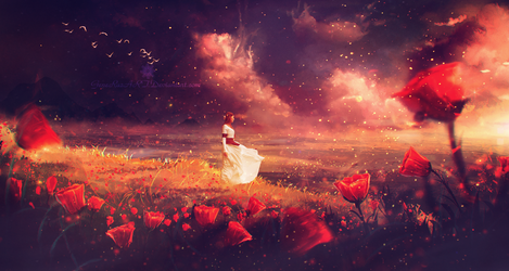 Sunset wind ~ Daily Deviation by Ellysiumn