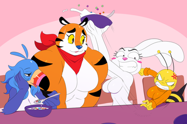 Cereal Gals by ss2sonic