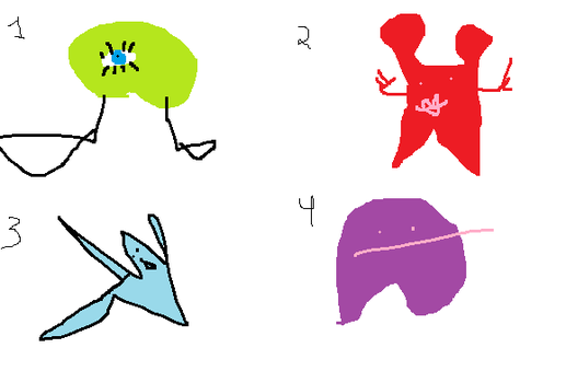 Cheap Adoptables- 2 LEFT!!!!!1!!!!! by mspaintmasterpieces