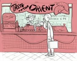 The Orient by littlecrow