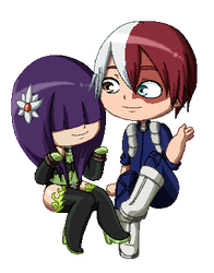 BNHA: TodoMiu Gif by Sparvely