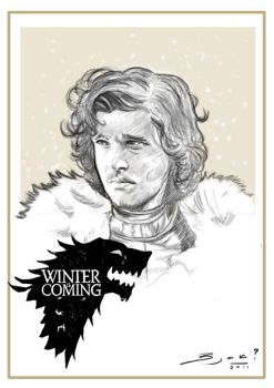 Winter is coming by Bjak