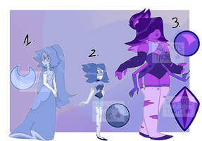 Gem Adopt/ Regualr and fusion (closed) by TrustyArts