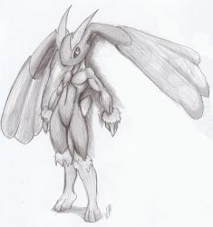 Pokemon DP: Lopunny penciling by chickenMASK