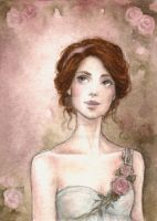 ACEO:Rose Garden II by Achen089