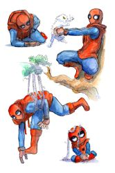 Spiderman sketches by Zinfer