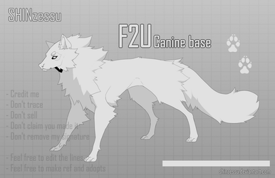 F2U - Free Wolf Base-15 by Shinzessu