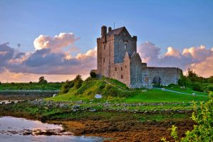 Dunguaire Castle, Galway, Ireland by Aishlling