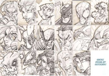San SketchCards by StevenSanchez