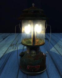 Lamp - Lighting and Texturing 3D Objects by tinanewtonart