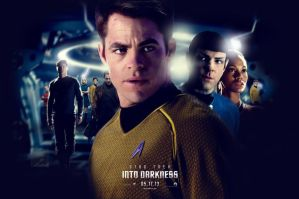 Star Trek Into Darkness fan poster by crqsf