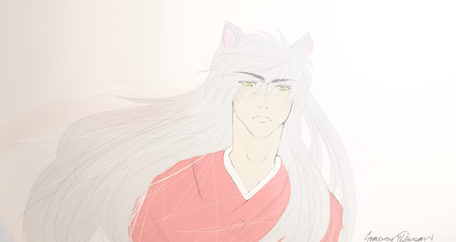 InuYasha - In The Past by CameronWasTaken