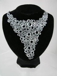 Nuts Jewellery - V  Necklace by back2root