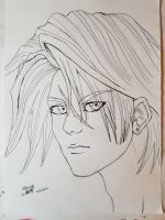 Squall lionheart (fanart) by Chains95