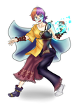 Comm - Prodigious Luck (Lute TG/AR) by KAIZA-TG