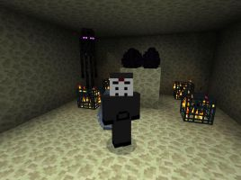 My Skin in Minecraft by SCP-096-2